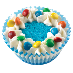 Cotton Candy Carnival Ice Cream Cupcake