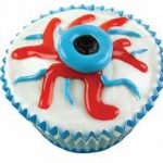 Eyeball Ice Cream Cupcake