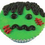 Frankenstein Ice Cream Cupcake