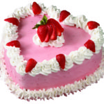 Heart Ice Cream Cake