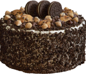 Cookie Jar Chaos Ice Cream Cake