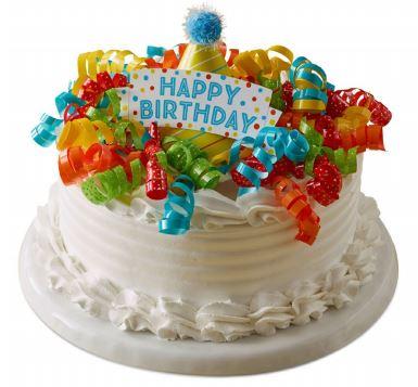 Birthday Cake Ice Cream Marble Slab